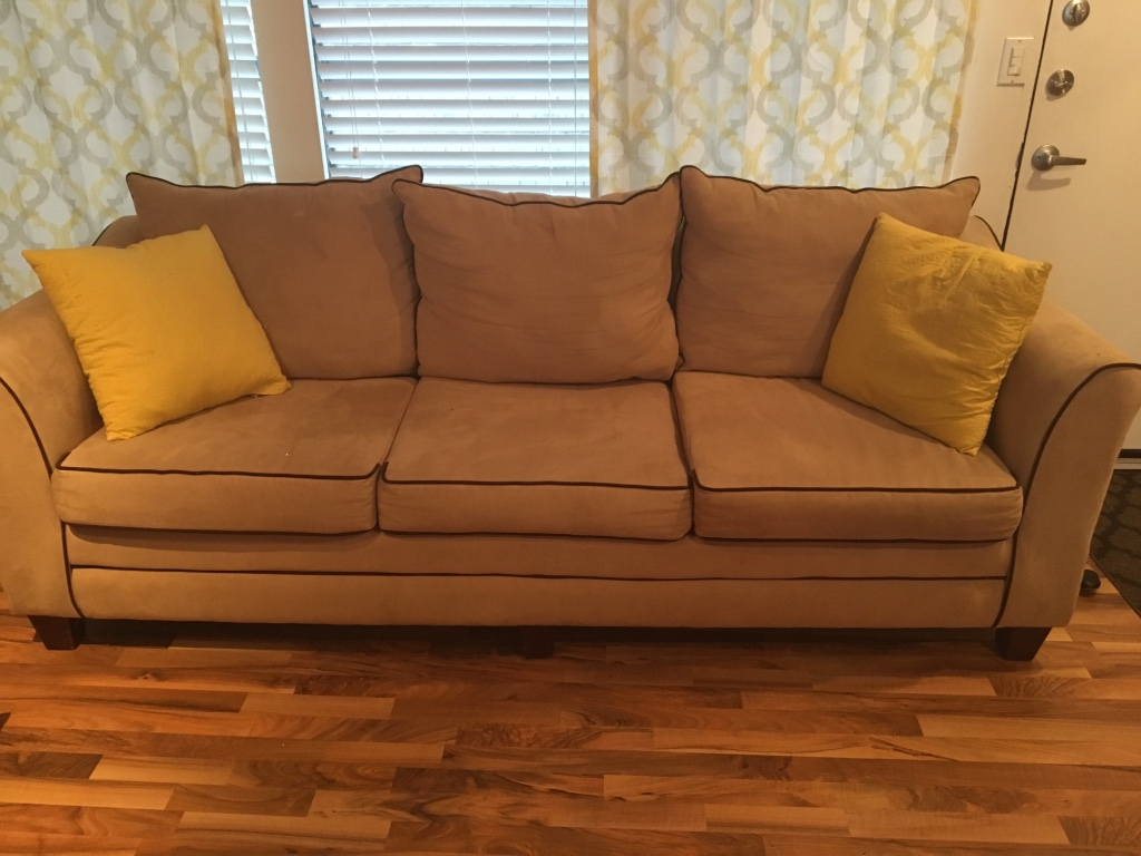 6 foot tan couch in houston letgo for 8 foot couch